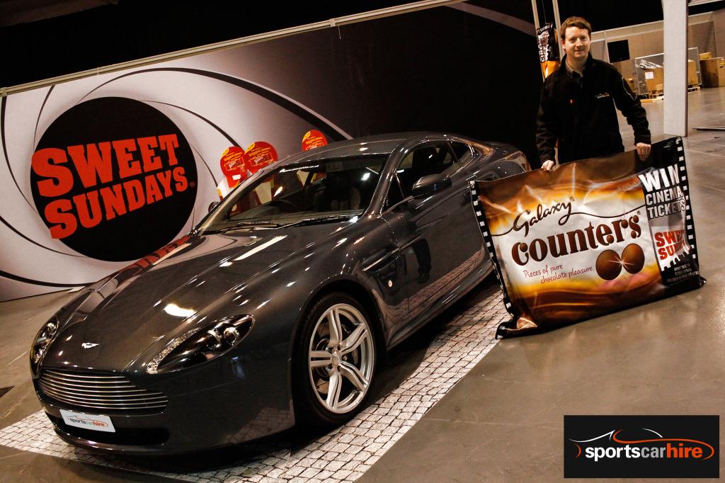 Sportscarhire's Aston Martin Vantage V8 International Centre Telford