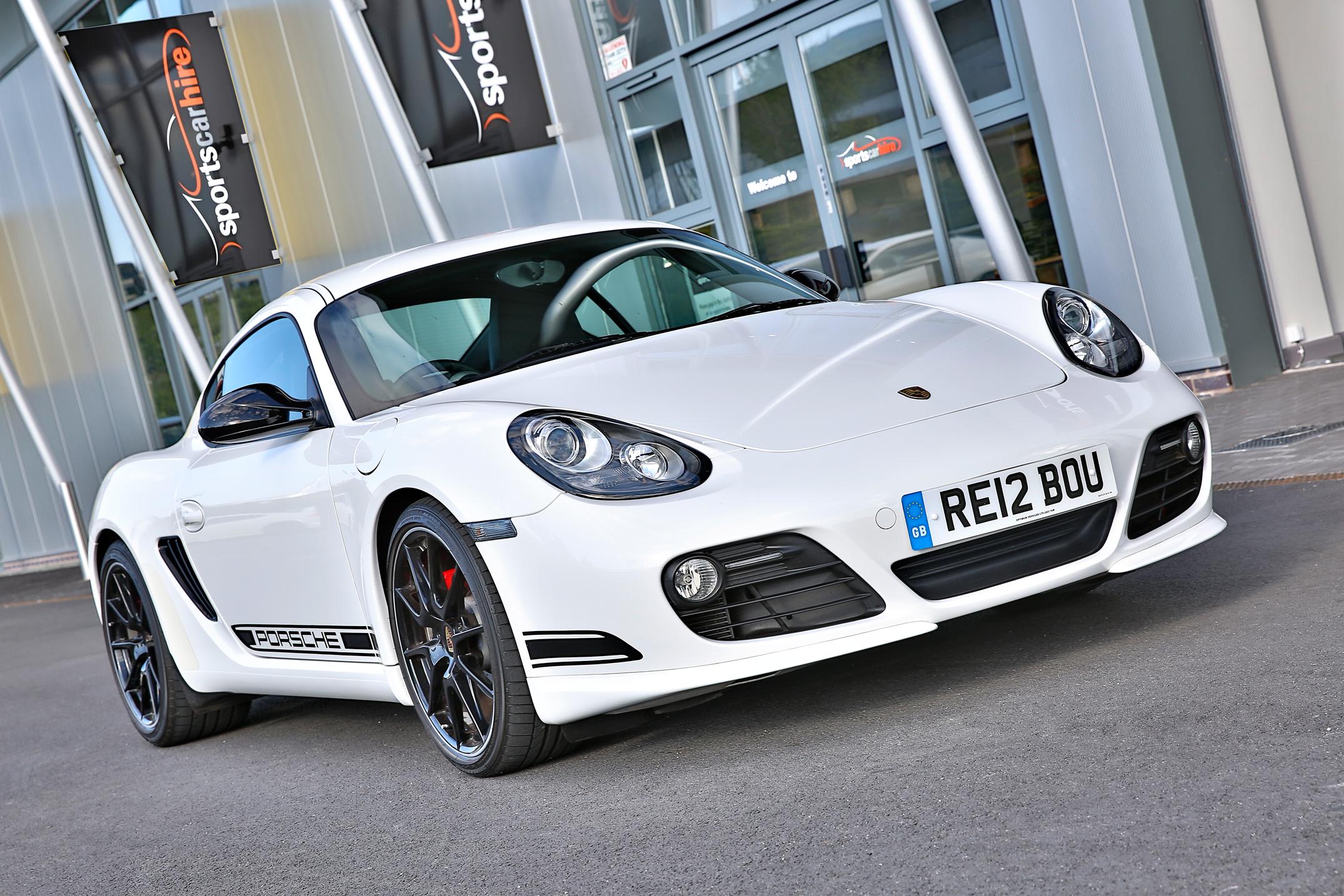 Porsche Cayman R hire from Sportshire, Shrewsbury & Telford
