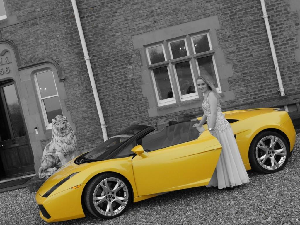 Prom Lamborghini Sportshire