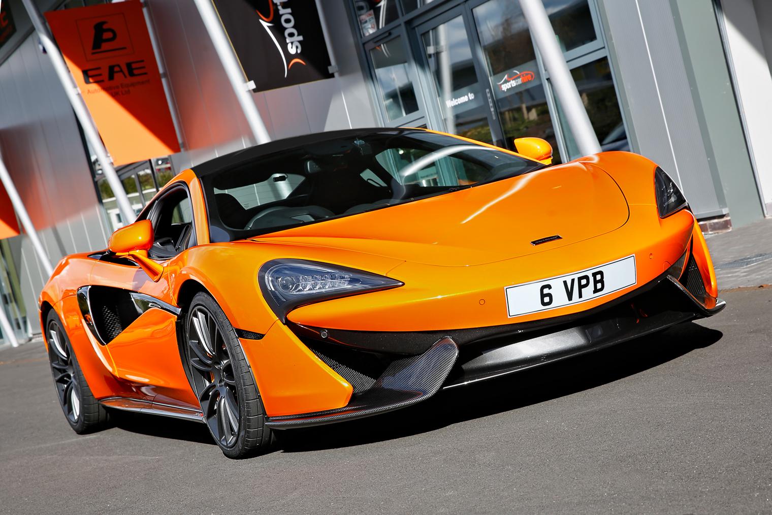 McLaren 570S for hire from Sportshire, Midlands