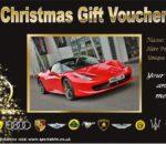 Ferrari gift voucher Sportscarhire