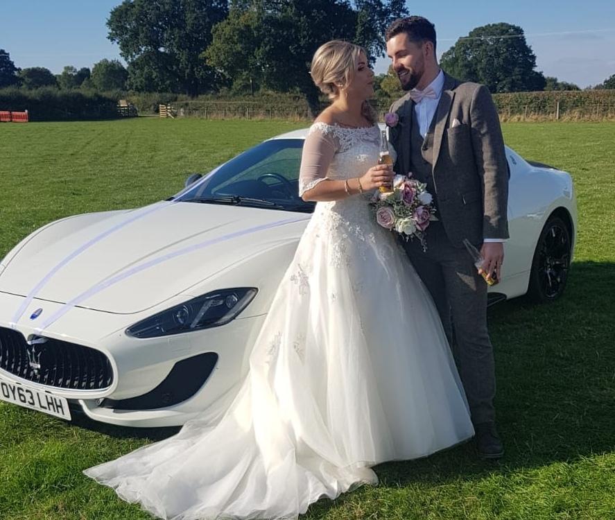 Wedding Maserati Sportscarhire